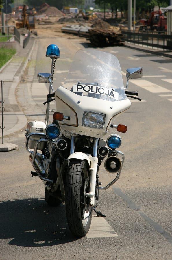 Velomotor da polícia fotografia de stock