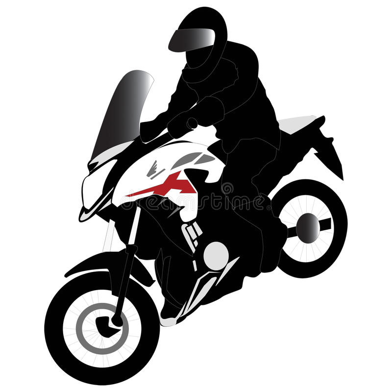 Velomotor de Honda CB500x fotos de stock