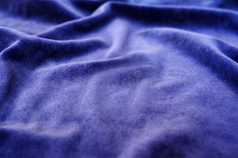 Velours bleu photographie stock