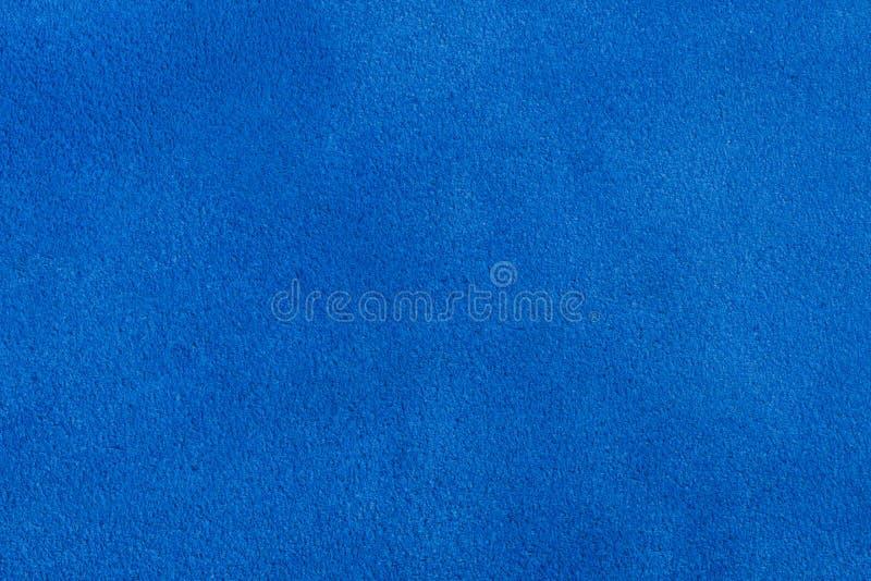 Velours bleu pour l'utilisation de fond images stock