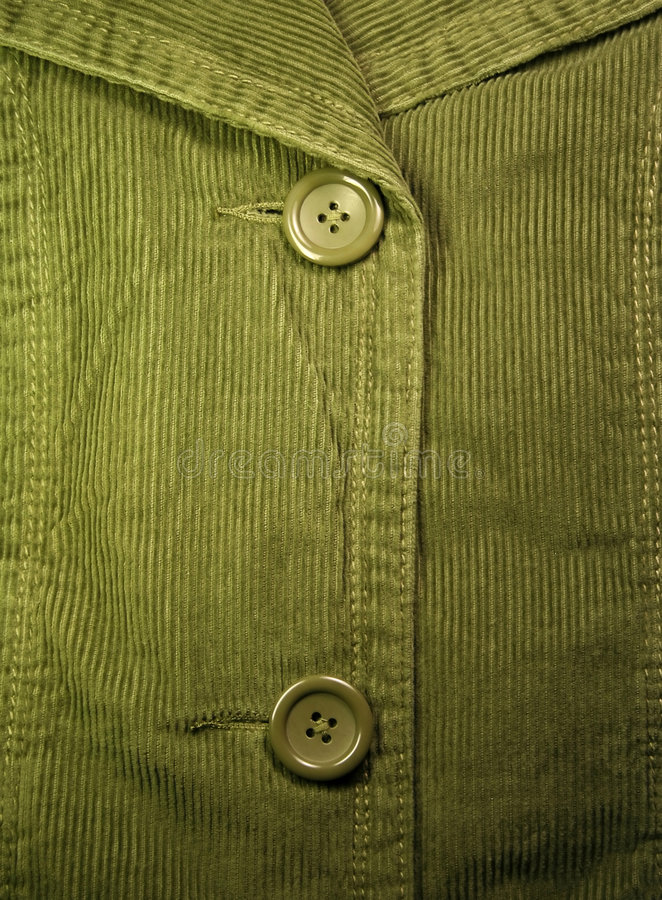 Velours côtelé vert 3 photographie stock libre de droits