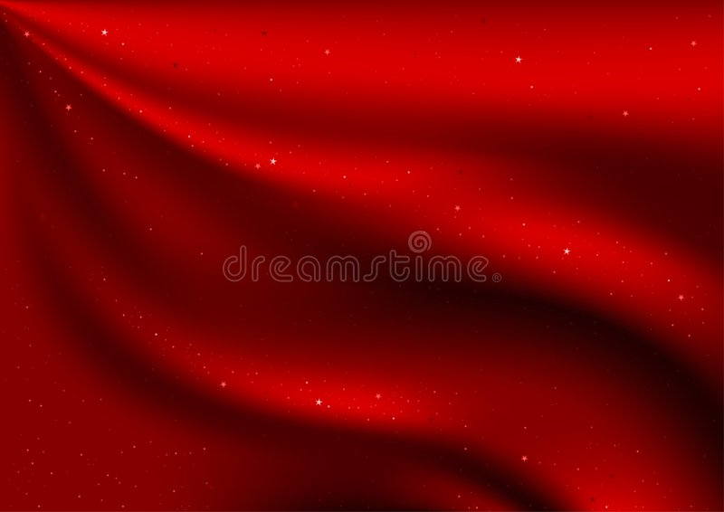 Velours et étoiles rouges illustration libre de droits