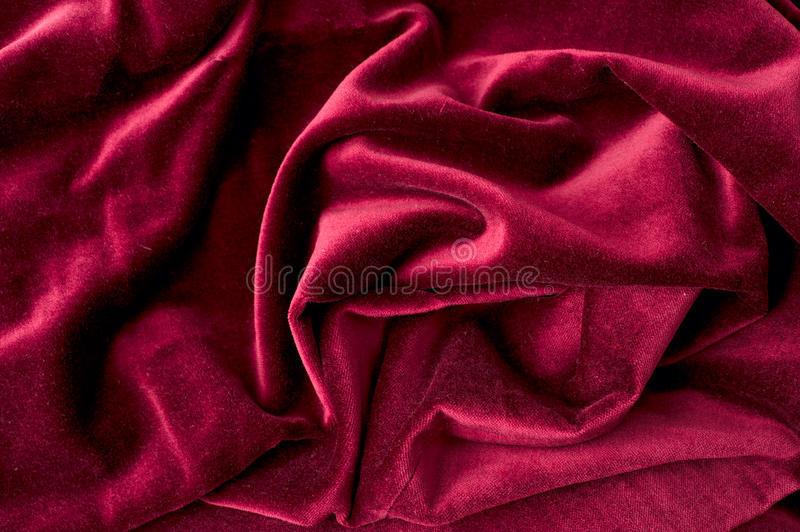Velours rouge images stock