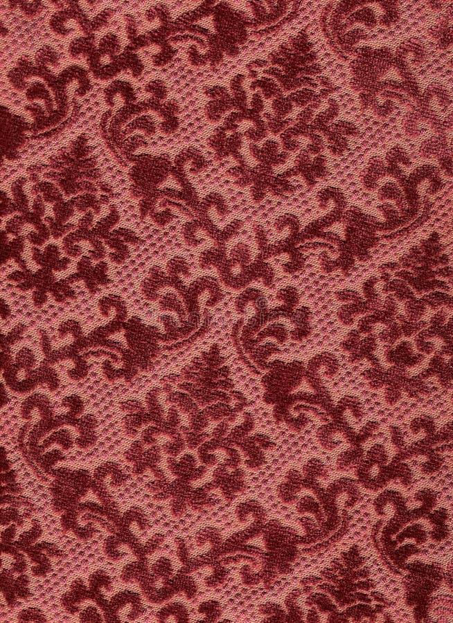 Velours rouge classique. photographie stock