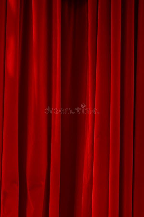 Velours rouge fermé photo libre de droits