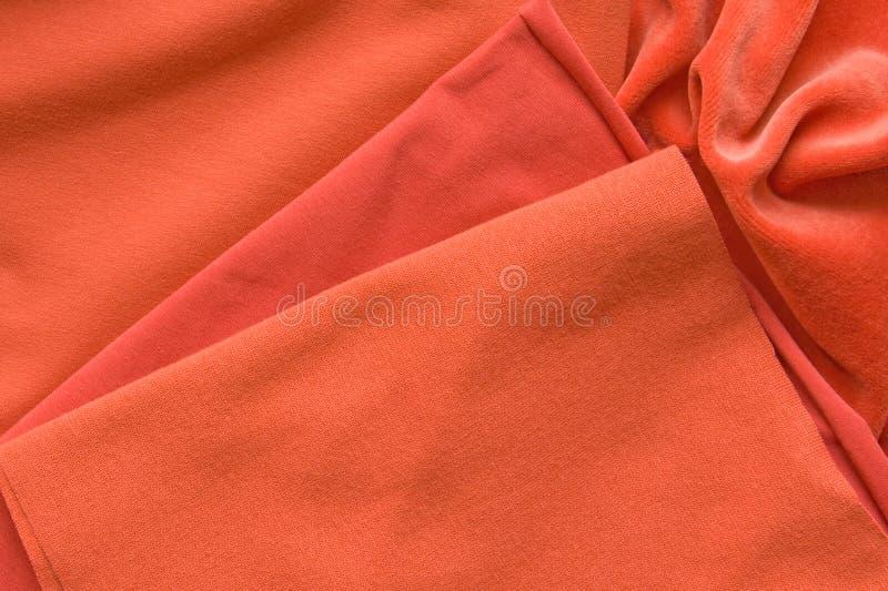 Velours rouges de tricots photographie stock