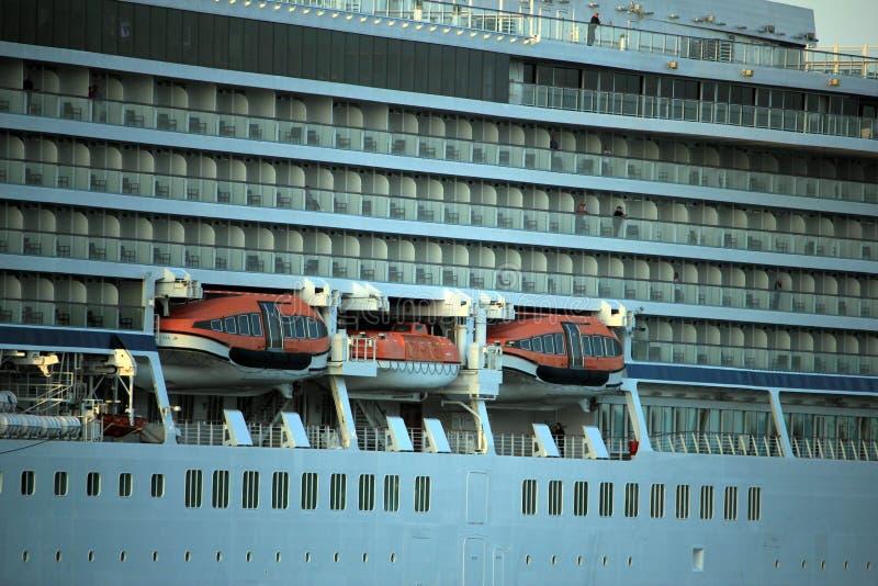 Velsen, Nederland - April, 21ste 2018: MV Viking Sea royalty-vrije stock foto