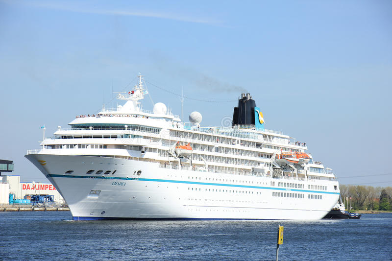 Velsen The Netherlands May Th MS Amadea Cruise Ship - Cruise ship amadea