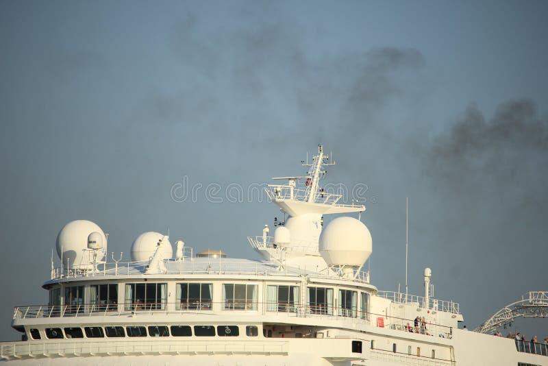 Velsen, The Netherlands - Oktober, 15th 2017: Columbus cruiseship, detail stock images