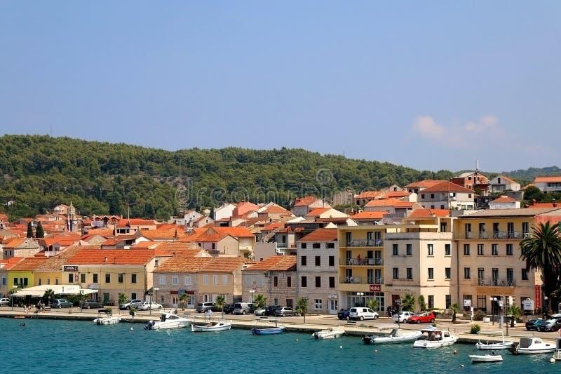 Velum Luka, Kroatië stock fotografie