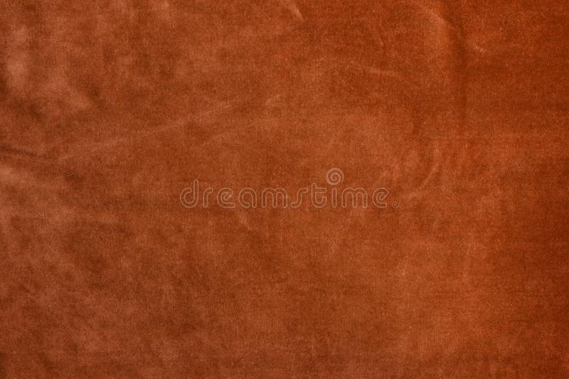 Velvet Brown Color Texture Background Stock Photo - Image of