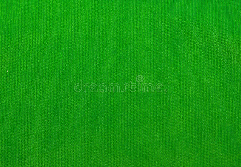 Velvet fabric texture, green, for backgrounds royalty free stock photo