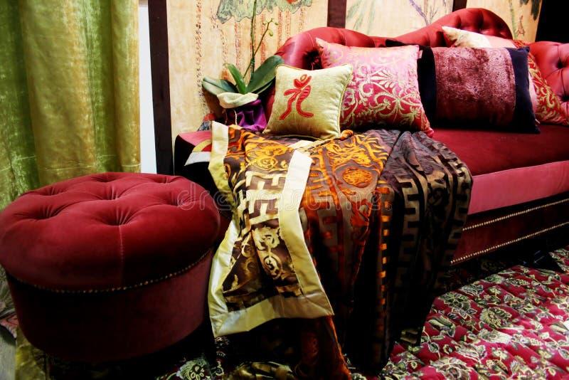 velvet lounge obraz stock