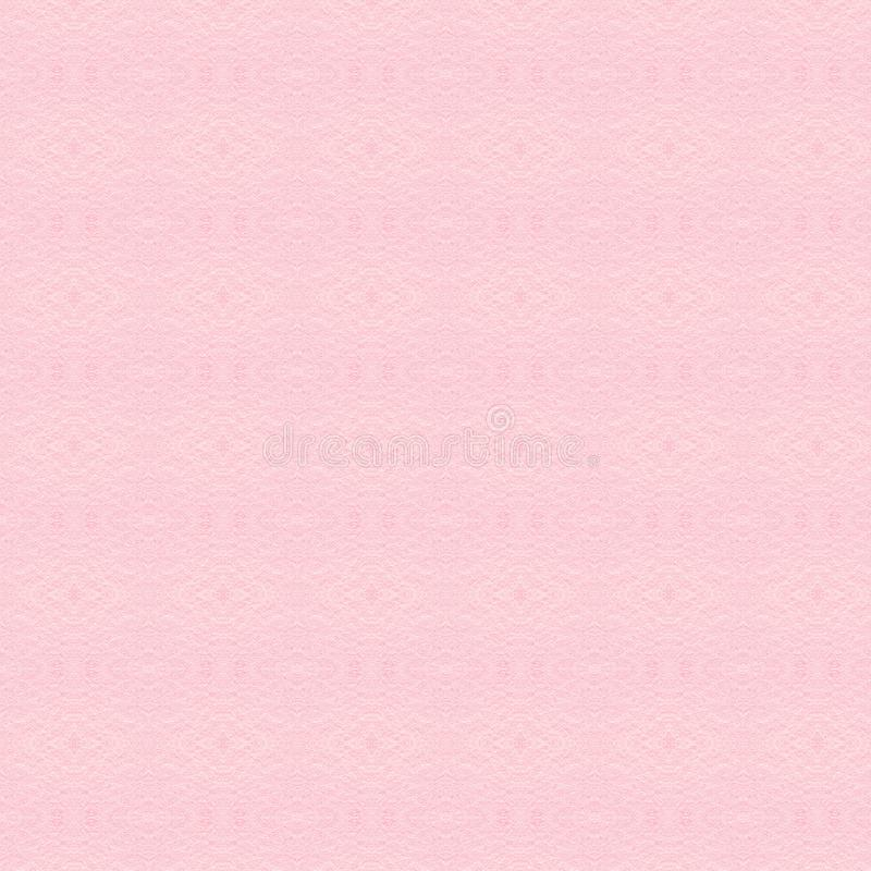 Velvet texture of seamless pink woolen felt. Light pink matte background of suede fabric, close up stock photo