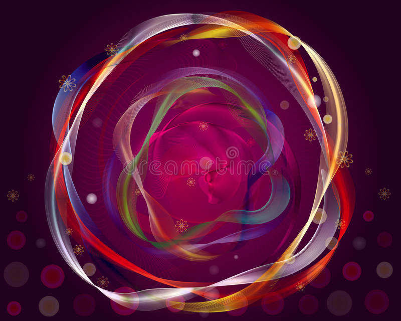 Download Velvets Background stock illustration. Image of circle - 27643631