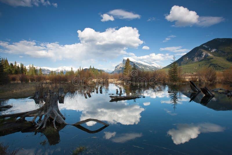 Vemillion Lakes Stock Image