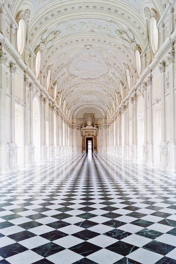 venaria дворца королевское стоковое изображение rf