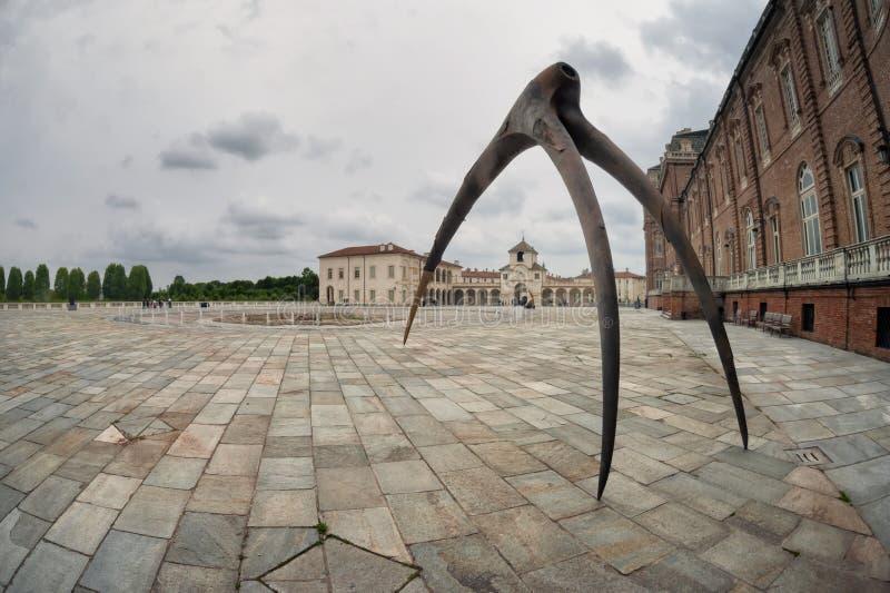 Venaria Reale, Turin, Italien royaltyfri foto