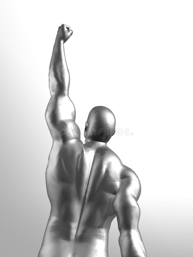 Vencedor ilustração stock