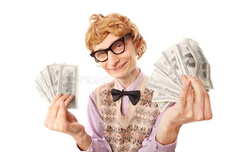Vencedor da lotaria imagem de stock