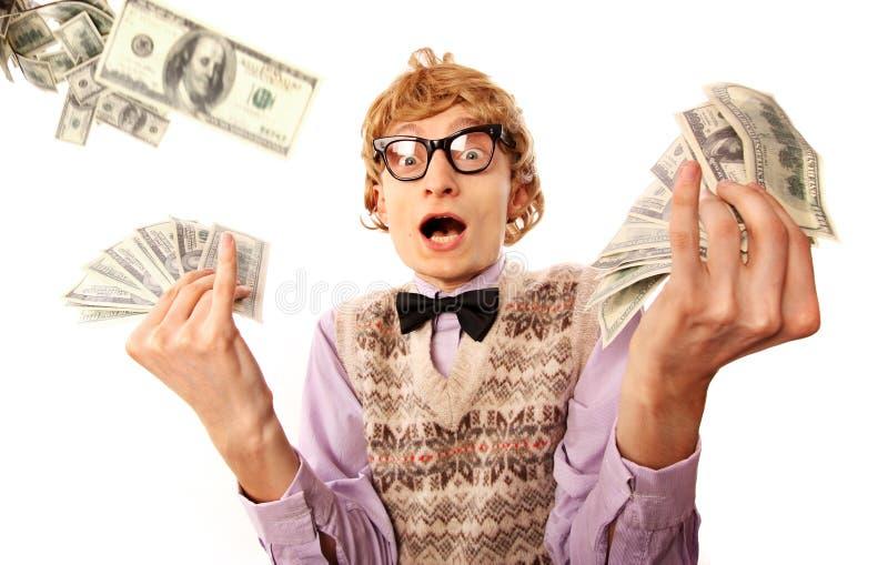 Vencedor da lotaria foto de stock