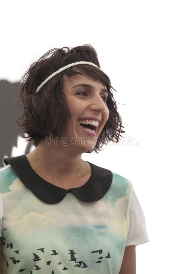 Vencedor 2016 de Eurovision Jamala (Ucrânia) fotos de stock royalty free