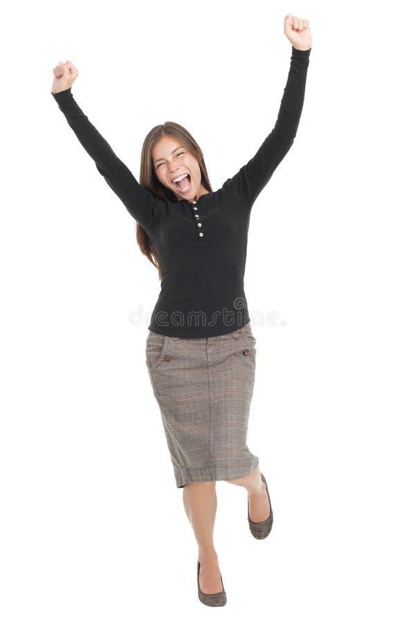 Vencedor/sucesso fotografia de stock