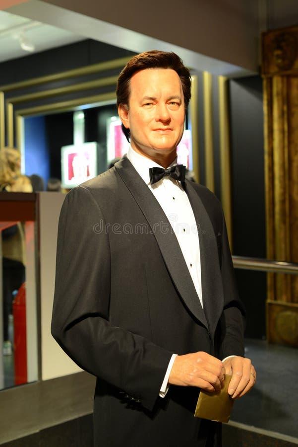 Vencedor Tom Hanks - Salão de Oscar das celebridades fotos de stock