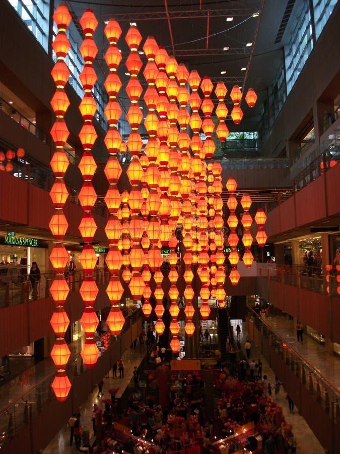 Venda chinesa do ano novo foto de stock