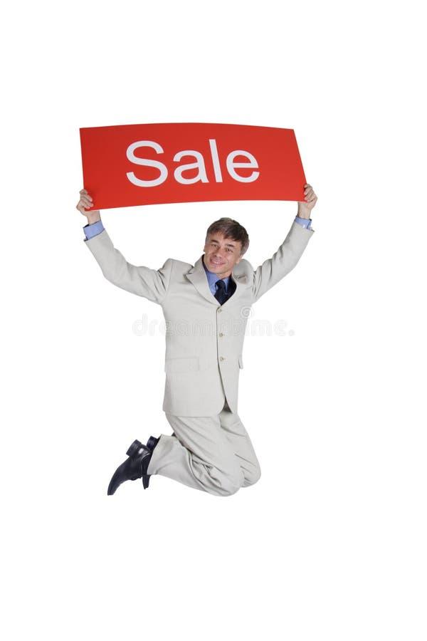 Venda de anúncio foto de stock royalty free