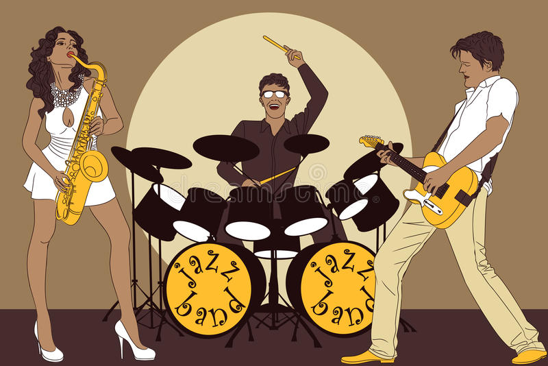 Venda de jazz libre illustration