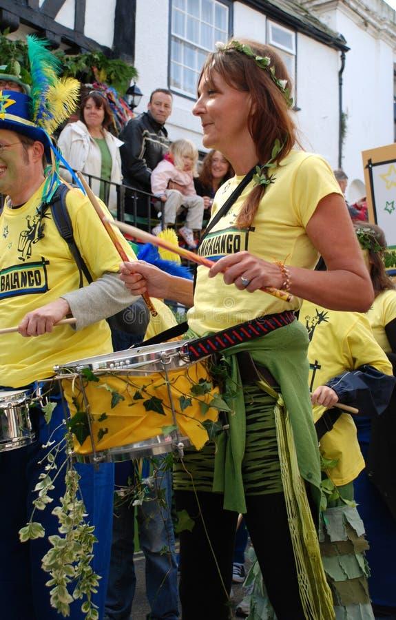Venda del tambor, Hastings imagen de archivo libre de regalías