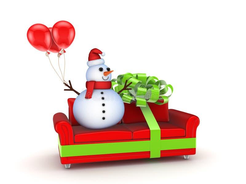 Venda do Natal. ilustração stock