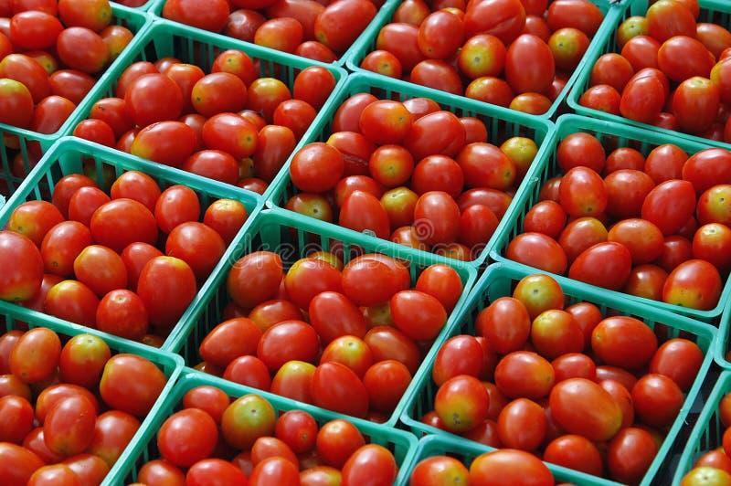 Venda Do Tomate Fotografia de Stock