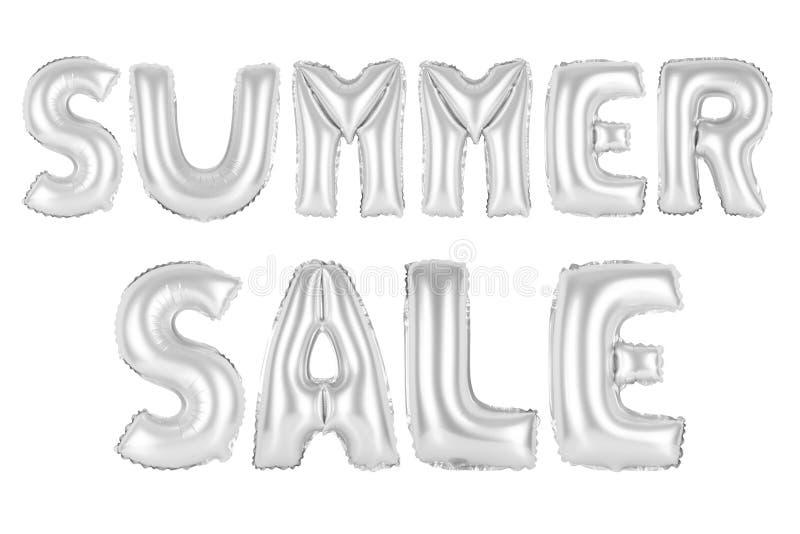 A venda do verão, croma a cor cinzenta ilustração royalty free
