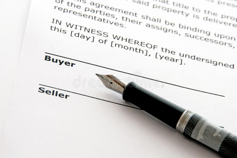 Venda dos bens imobiliários imagens de stock
