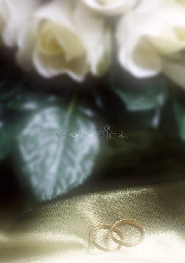 Vendas de boda fotografía de archivo