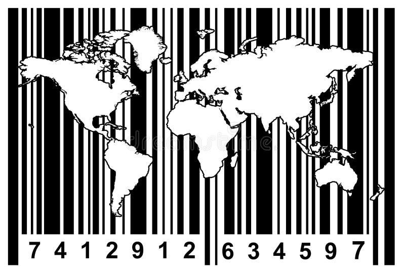 Vendas globais ilustração do vetor