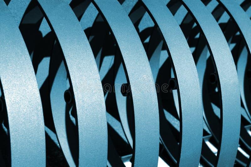 Vendas metálicas imagen de archivo