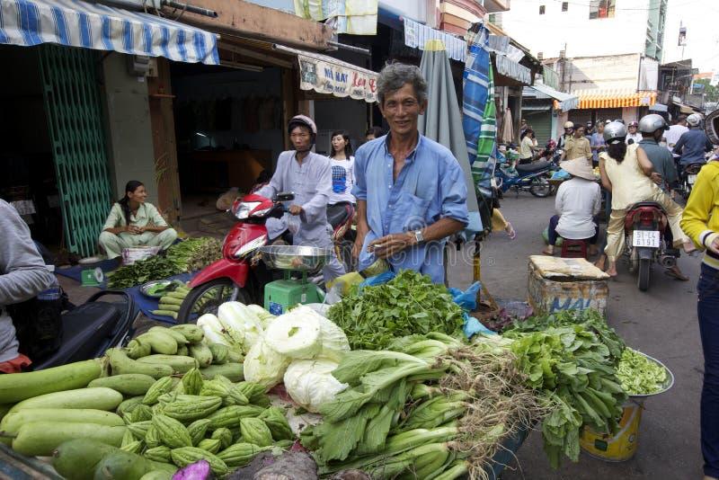 Vendedor ambulante de Vietnam imagens de stock