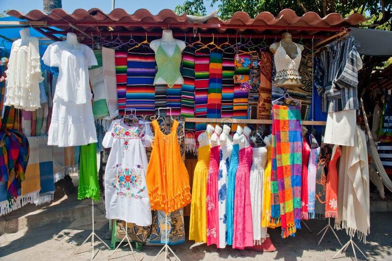 Vendedor ambulante em México   imagens de stock