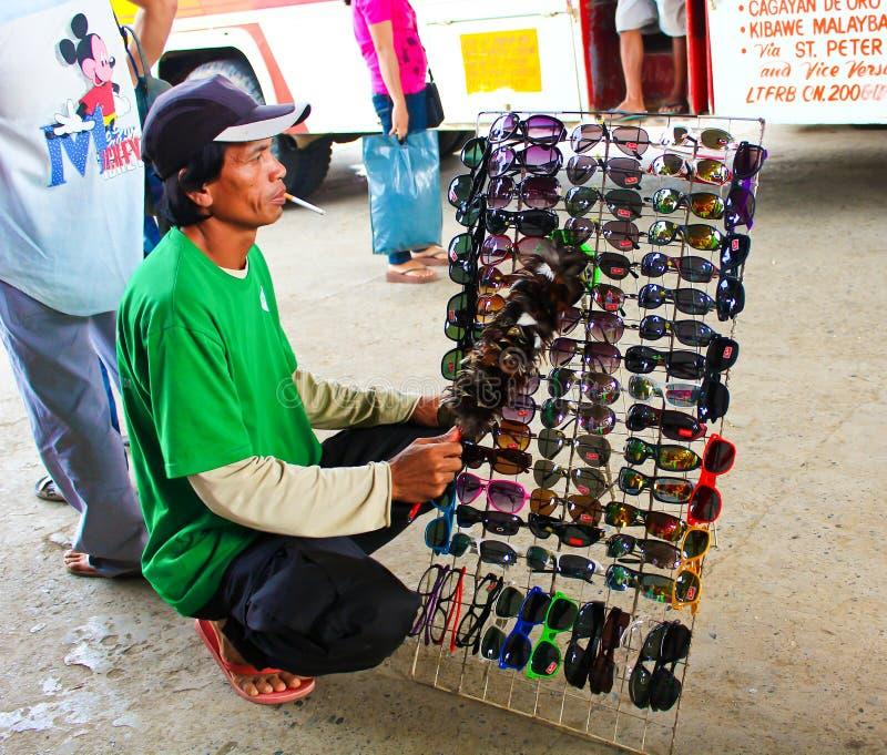Vendedor ambulante en Asia foto de archivo libre de regalías