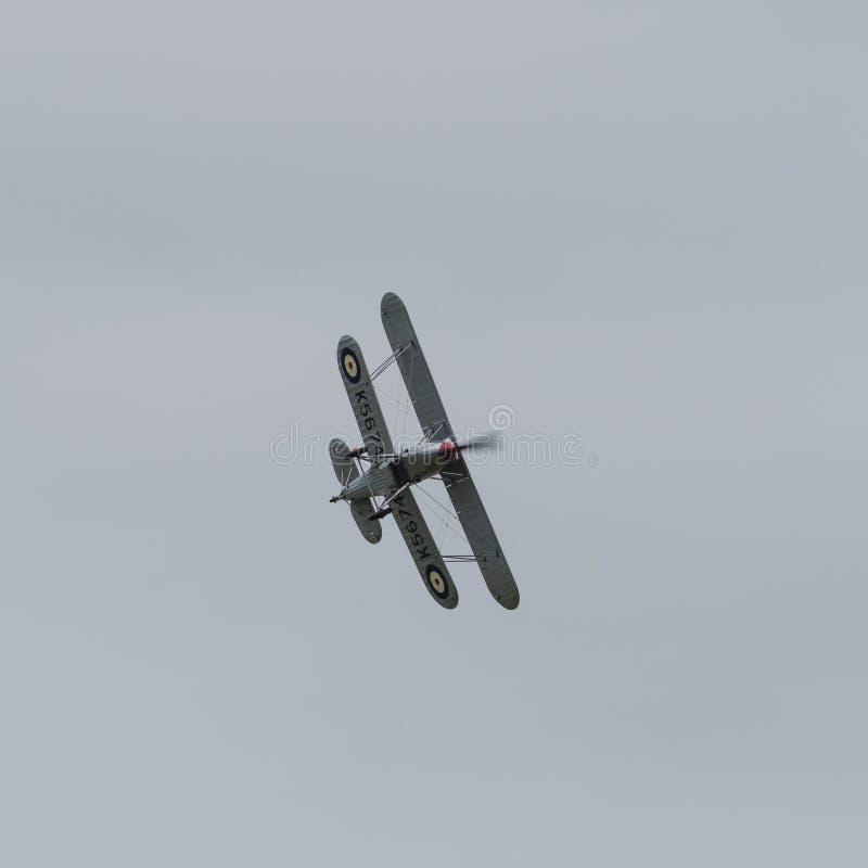 Vendedor ambulante Fury Biplane imagens de stock