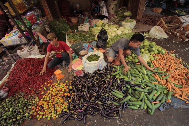 Vendedor vegetal fotos de archivo