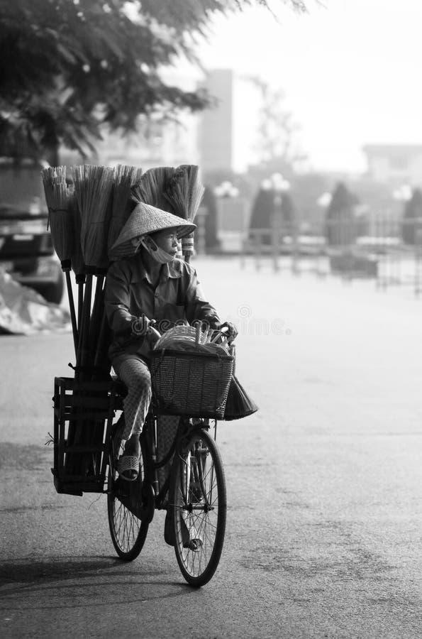 Vendedores ambulantes foto de archivo libre de regalías