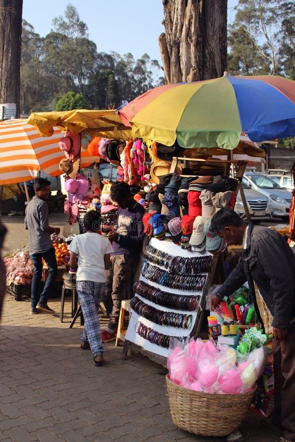 Vendedores ambulantes fotografia de stock