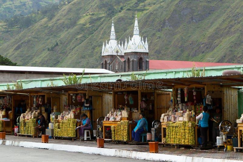 Vendedores de la caña de azúcar imágenes de archivo libres de regalías