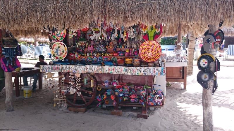 Vendeur de Cozumel photos stock