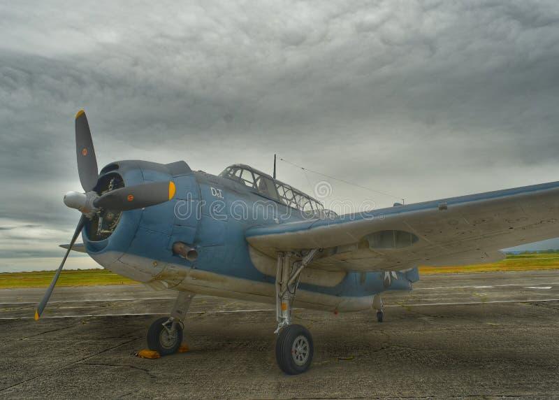 Vendicatore di Grumman TBM-3E immagini stock libere da diritti