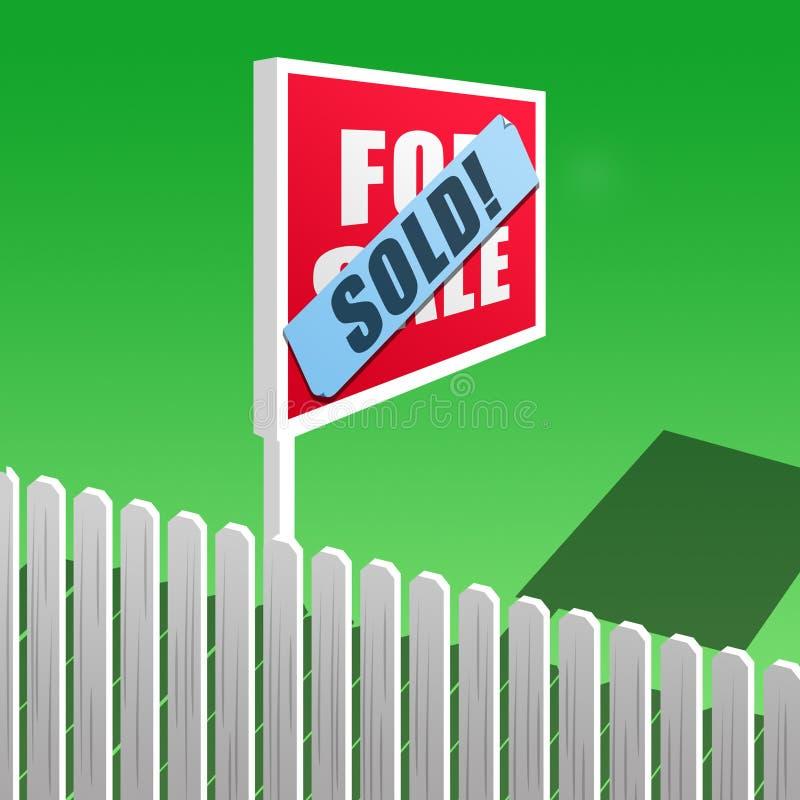 ¡Vendido! imagenes de archivo